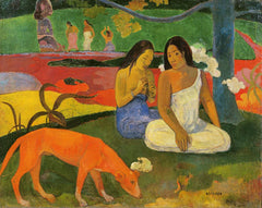 Arearea (The Red Dog), Paul Gaugin Alternate View