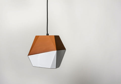 Large Geometric Pendant, Nick Fraser