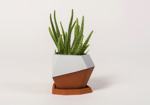 Geometric Pot Glazed, Nick Fraser - CultureLabel