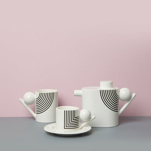 Geometric Teapot - Pattern, Design K