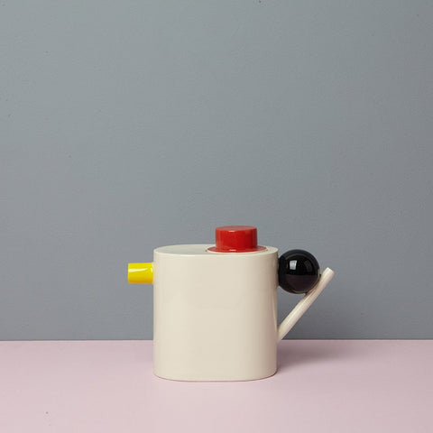 Geometric Teapot - Colour, Design K - CultureLabel