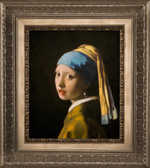 Girl With The Pearl Earring by Johannes Vermeer, Verus Art
