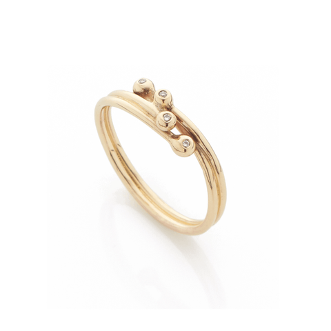 Entwine Simple Diamond Ring, Yen Jewellery