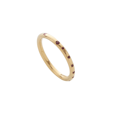 Aestivation Ruby Stacking Ring, Yen Jewellery - CultureLabel - 1