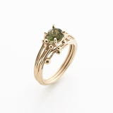 Green Tourmaline Ring, Yen Jewellery - CultureLabel - 1