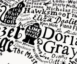 Literary London Map, Run For The Hills - CultureLabel - 7 (white; Dorian Gray)