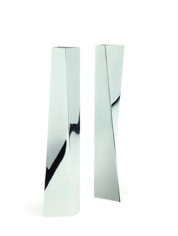 Chrome Vase, Zaha Hadid