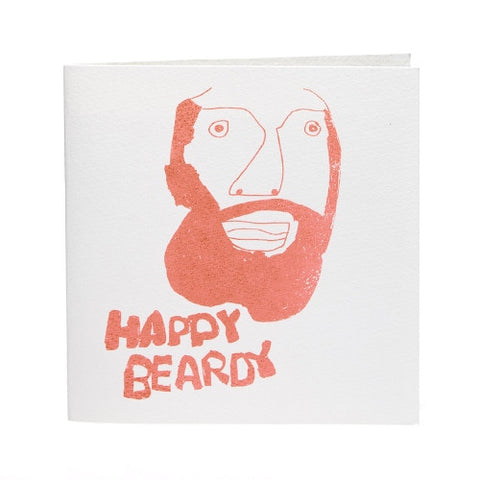 Happy Beardy Card, ARTHOUSE Meath - CultureLabel - 1