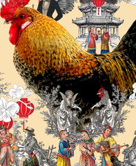 Happy Rooster CNY 2017, Hollis Carney Alternate View
