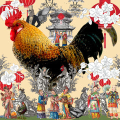 Happy Rooster CNY 2017, Hollis Carney
