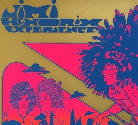 Jimi Hendrix Are You Experienced (1967), Hapshash Alternate View