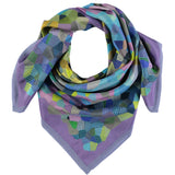 Hockney Inspired Silk Square Scarf, The Royal Academy - CultureLabel