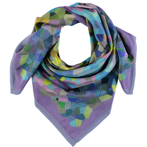 Hockney Inspired Silk Square Scarf, The Royal Academy