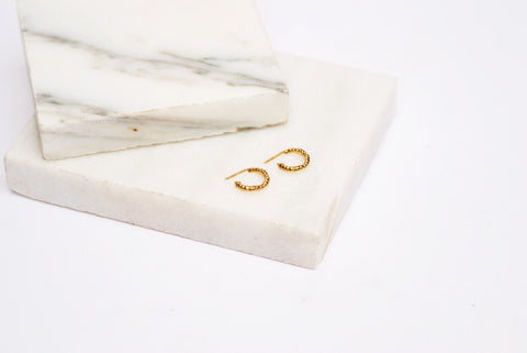 Mini Thorn Hoop Earrings, Ros Millar Alternate View