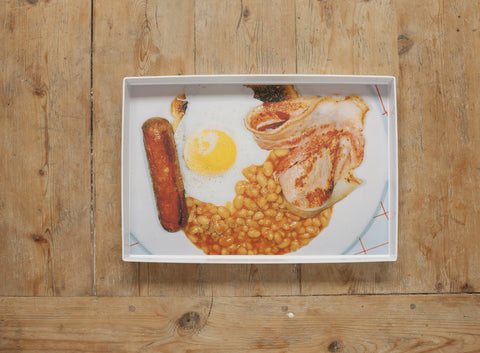 Magnum Photos English Breakfast Tray, Plinth