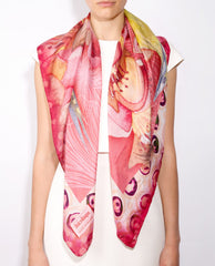 Amalfi Silk Scarf, DolceRoopa Alternate View