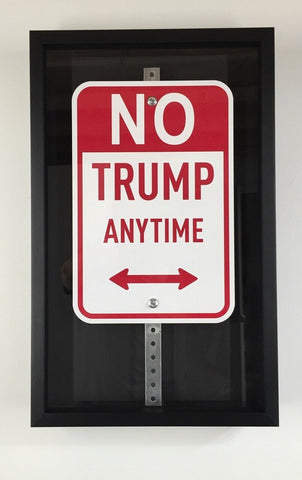 No Trump Anytime - Framed Sign, Plastic Jesus - CultureLabel