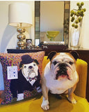 Bespoke Dog Cushion, Mia Loves Jay - CultureLabel - 3