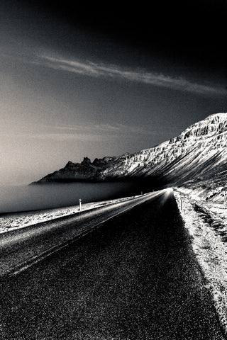 Coastal Road at Twilight, Alice Gur-Arie