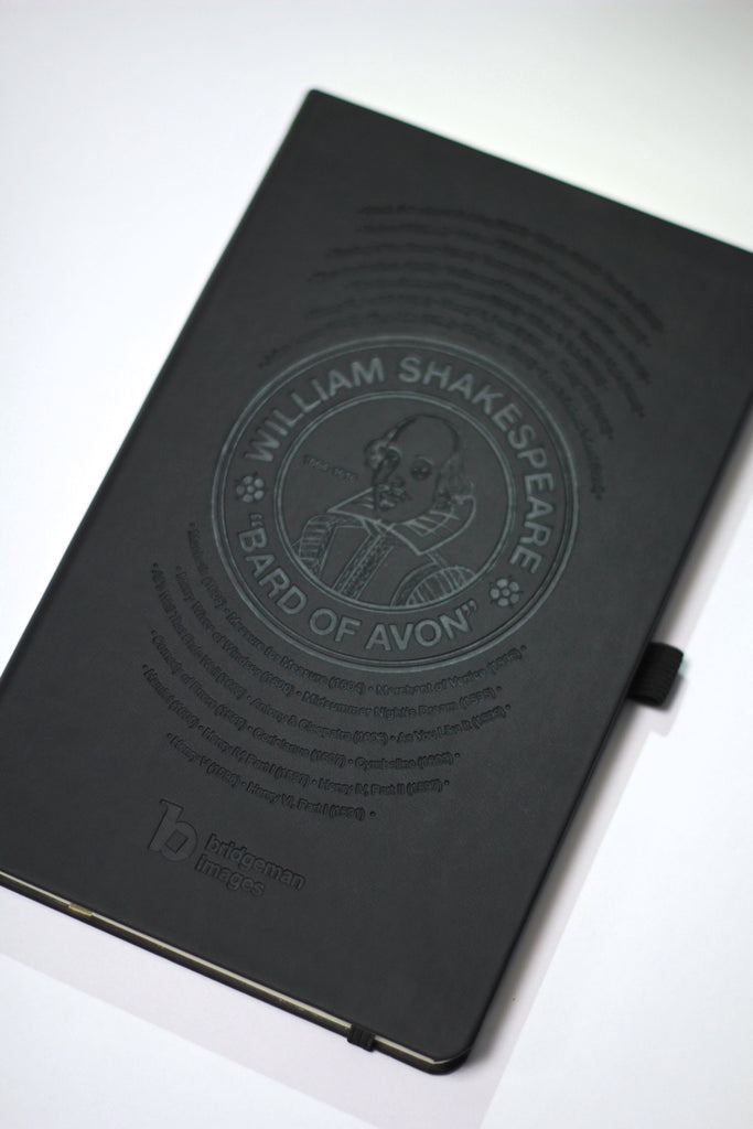 Bridgeman Images William Shakespeare Soft Touch Notebook - CultureLabel - 1