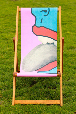 Tongue Deckchair by Tyler Spangler - CultureLabel