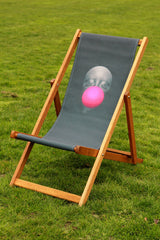 Bubblegum Deckchair, Schoony Alternate View