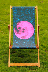 Pink Moon Deckchair, Tyler Spangler Alternate View