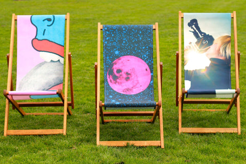 Tongue Deckchair by Tyler Spangler Alternate View