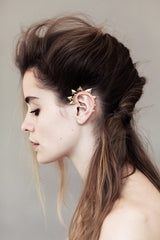 Modern Primitive Ear Cuff, Rachel Entwistle Alternate View