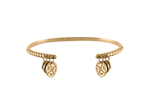 Sami Coin Bangle, No 13