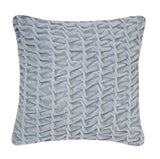 Hand Stitched Swirl Cushion Duck Egg, Nitin Goyal - CultureLabel - 1