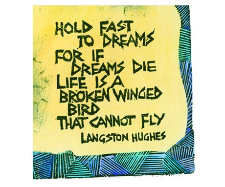 Homage to the Poet Langston Hughes, Peter Clarke Alternate View