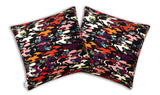 Ink Camo Silk Cushion Cover, Kristjana S Williams - CultureLabel - 1