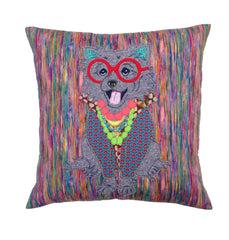 Iris Apfel Pomeranian Cushion, Mia Loves Jay