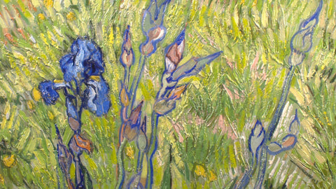 Iris by Vincent Van Gogh 3d Reproduction, Versus Art Alternate View
