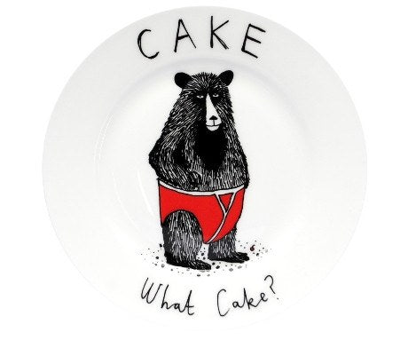 Cake? What Cake? Side Plate, Jimbobart - CultureLabel