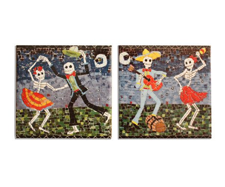 The Merry Party Coaster Set, Juan is Dead - CultureLabel