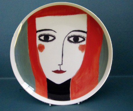 Red Head Plate, Katy Leigh - CultureLabel