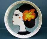 Orange Flower Plate, Katy Leigh - CultureLabel