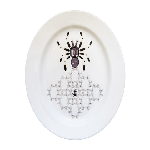 Spider Fine Bone China Oval Platter, Kim Sera - CultureLabel - 1