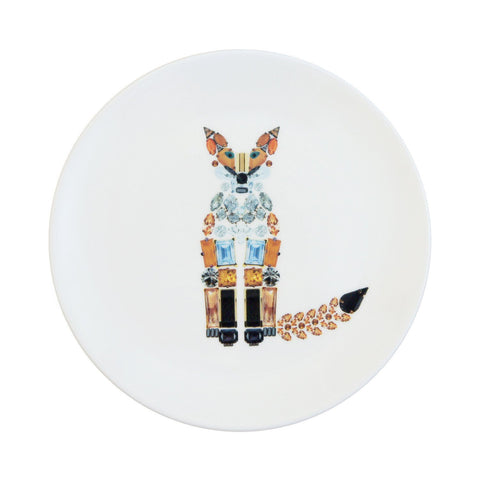 Fox Fine Bone China Plate (Medium), Kim Sera - CultureLabel - 1