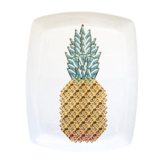 Pineapple Fine Bone China Large Platter, Kim Sera
