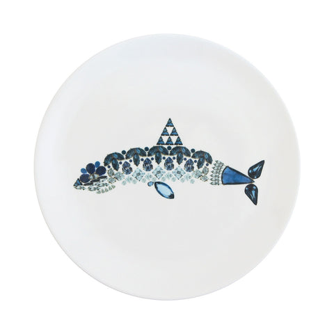 Shark Fine Bone China Plate (Large), Kim Sera - CultureLabel - 1