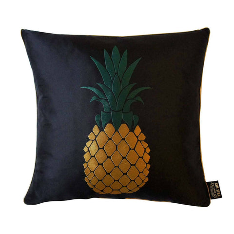 Pineapple Silk Jacquard Cushion, Kim Sera - CultureLabel - 1