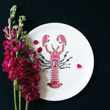 Lobster Fine Bone China Plate (Large), Kim Sera - CultureLabel - 3