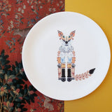 Fox Fine Bone China Plate (Medium), Kim Sera - CultureLabel - 3