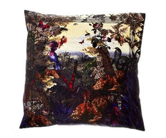 Pupura Vallis Cotton Cushion Cover, Kristjana S Williams
