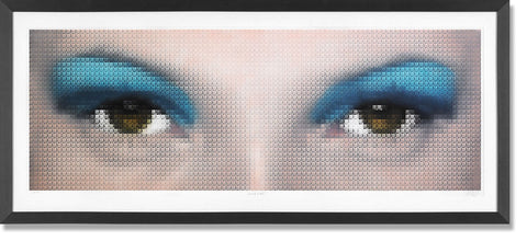 Kate Moss Eyes - Cyan, Nick Holdsworth - CultureLabel - 1
