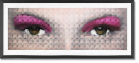 Kate Moss Eyes - Magenta, Nick Holdsworth - CultureLabel