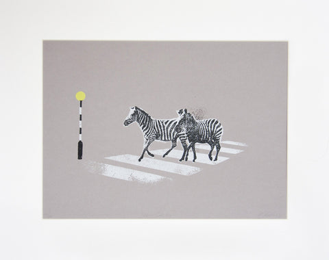 Zebra Crossing, Katie Edwards Alternate View